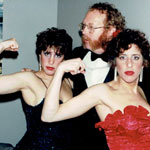1983 new years eave the sateens with jill klein and steve klein